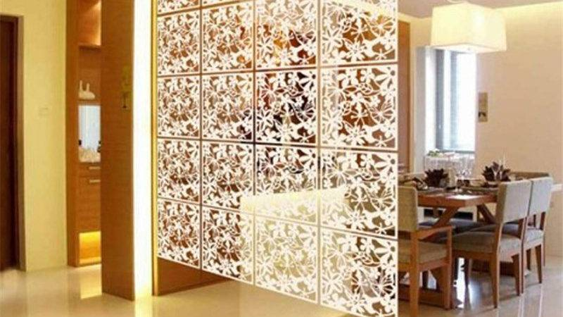 Plastic Hanging Screen Partition Room Divider Wall