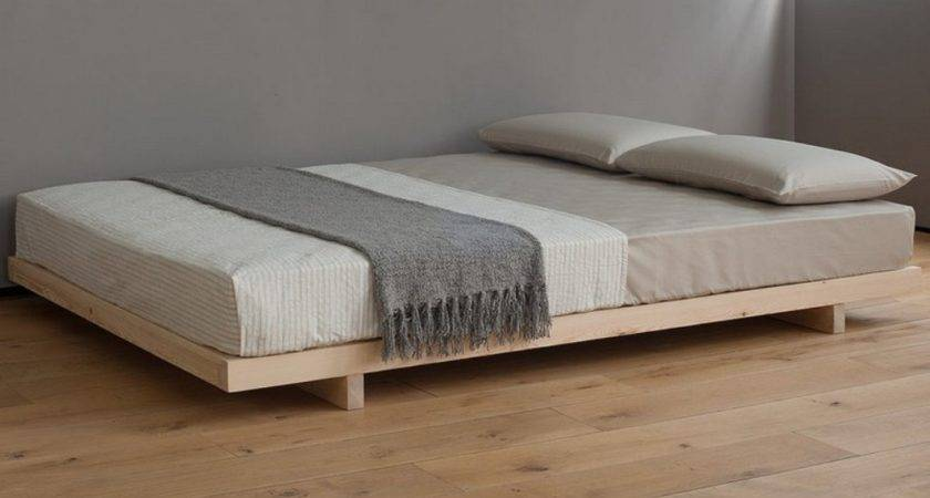 Platform Bed Without Headboard Ideas