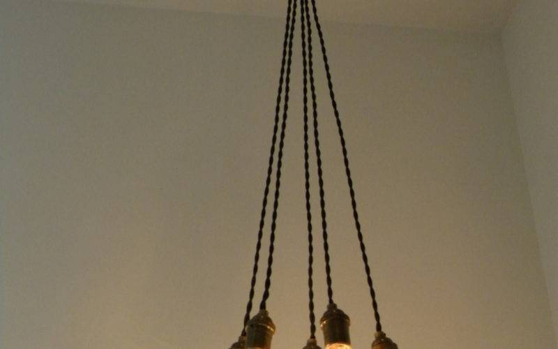 Plug Cluster Chandelier Pendant Lighting Modern Swag Custom