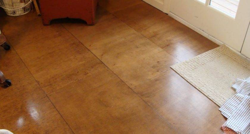 Plywood Flooring Ideas Houses Blogule