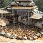 Pond Less Waterfall Would Make Great Bird Bath Too