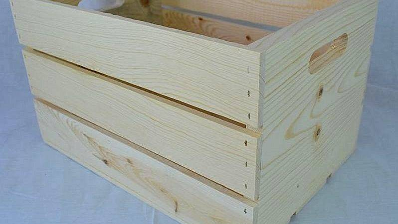Poole Sons Inc Slatted Crate Hand Holes