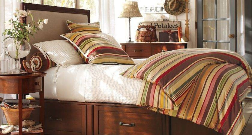 Pottery Barn Knock Off King Stratton Bed