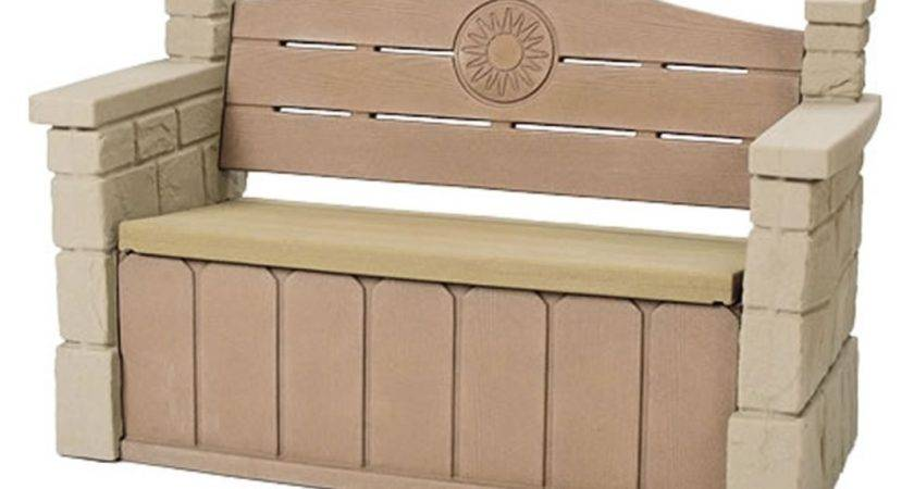 Pottery Barn Outdoor Storage Bench