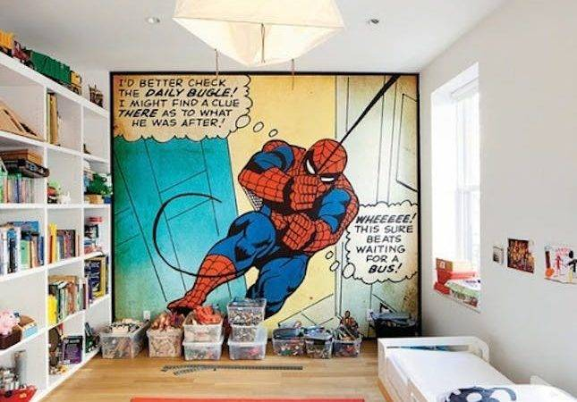 Pow Comic Book Inspired Kids Rooms Rescue