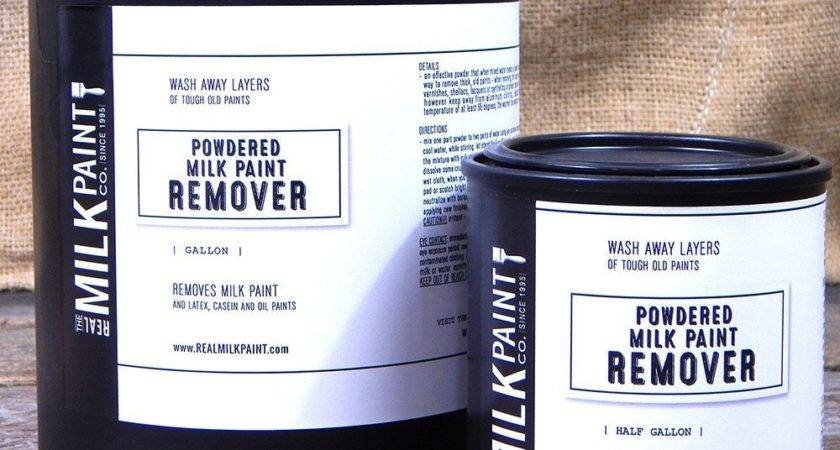 Powdered Milk Paint Remover Removing Old