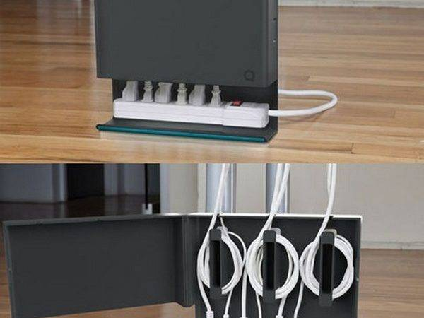 Practical Cable Hiding Solution Uncluttered Interiors