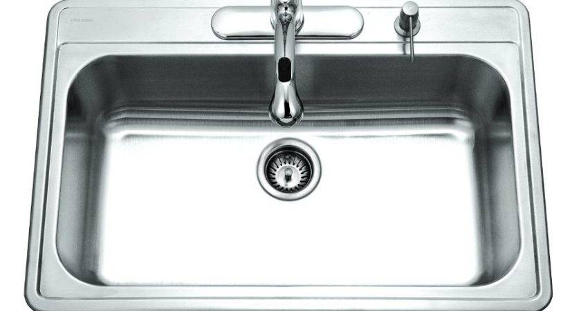 Premiere Gourmet Single Bowl Topmount Stainless Steel Sink