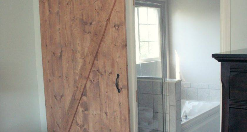 Pretty Distressed Diy Sliding Barn Door