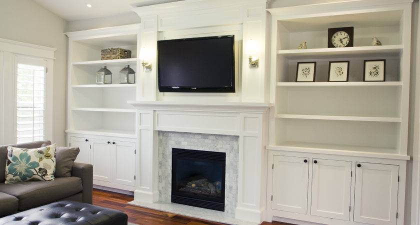 Pretty Fireplace Bookcases Hobby Pinterest