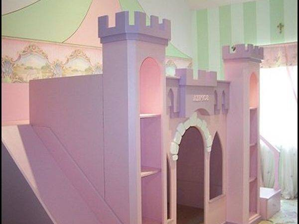 Princess Castle Bed Diy Reference