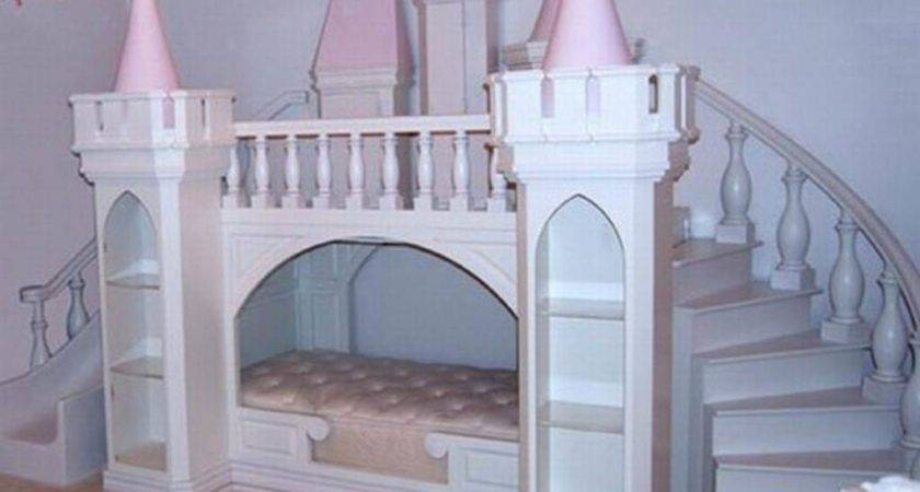 Princess Castle Bed Plans Girls