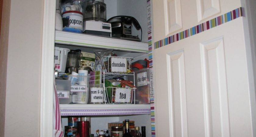 Project Purple Pantry Makeover