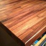 Protect Butcher Block Counters During Projects