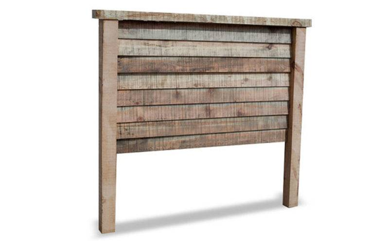 Purchase Natural Barnwood Bed Rustic Headboard