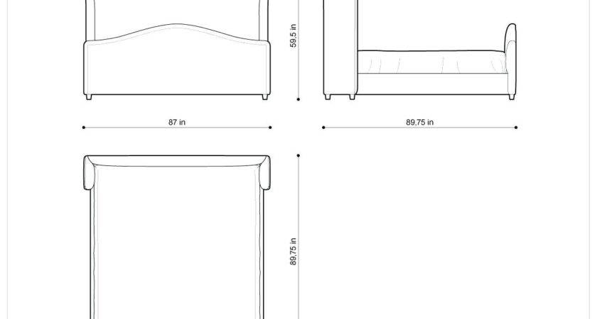 Queen Bed Frame Diions Headboard