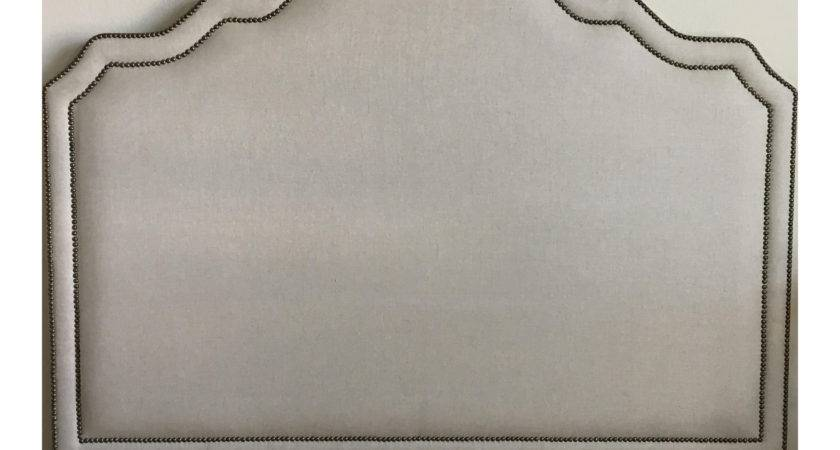 Queen Nailhead Trim Headboard Chairish