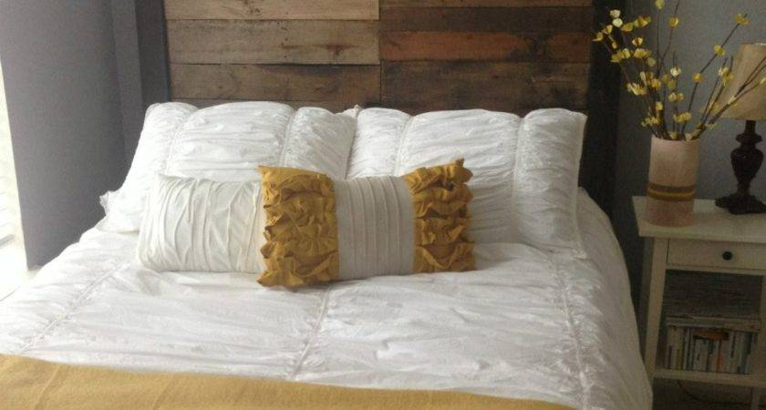Queen Reclaimed Wood Headboard