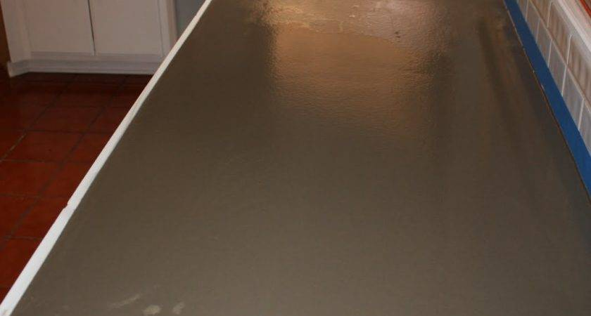 Quick Install Concrete Countertops Kitchen Remodel