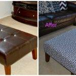 Quick Simple Diy Reupholster Ottoman Editeestrela Design