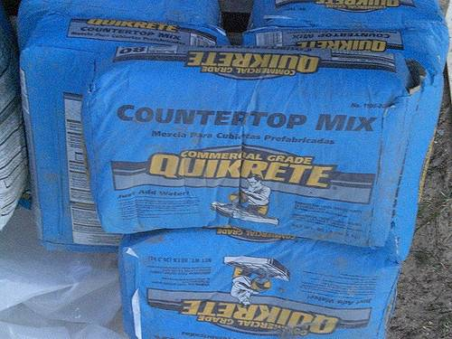 Quikrete Countertop Mix Had Special Ordered