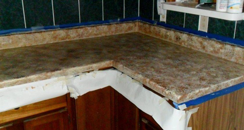 Quiltanddagger Faux Granite Painting Formica Countertops
