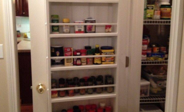 Rack Exciting Over Door Spice Ideas Pantry