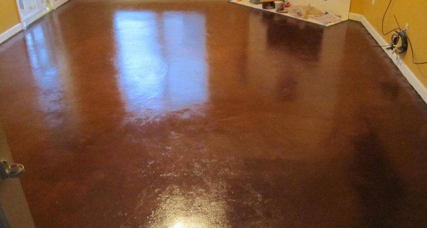 Raising Painted Concrete Floors Beautiful