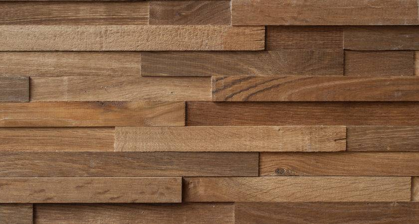 Reclaimed Engineered Oak Strip Cladding Oiled New