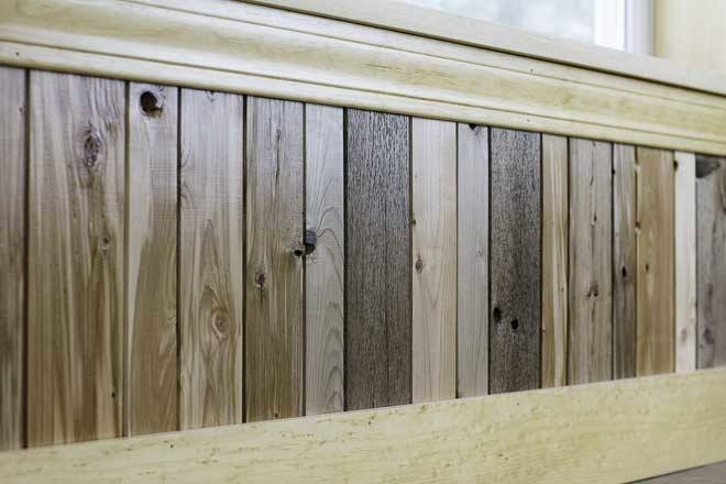 Reclaimed Wainscoting Maine Heritage Timber