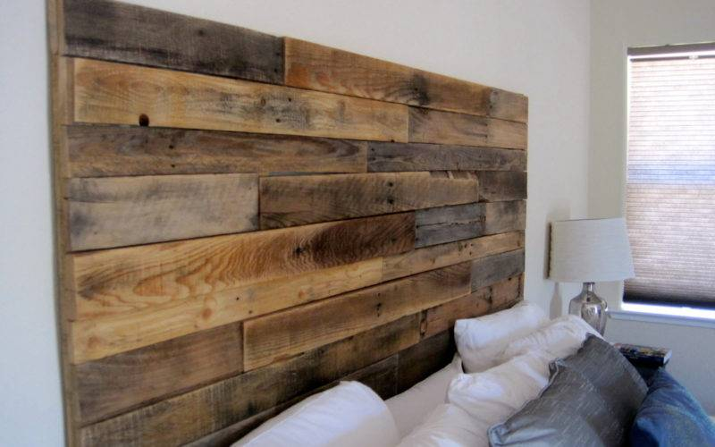 Reclaimed Wood Headboard Elkdesignco Etsy