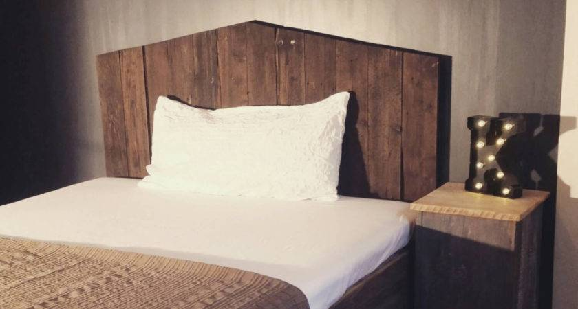 Reclaimed Wood Headboard Imgkid