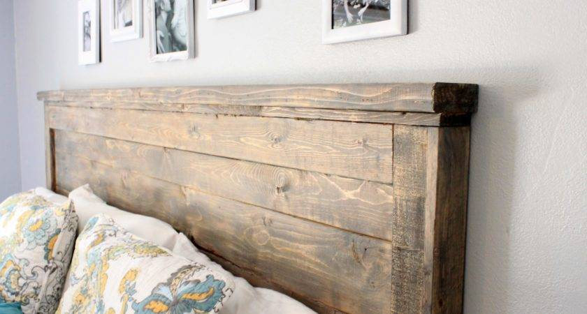 Reclaimed Wood Headboard King Designs Interalle