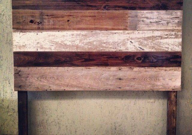 Reclaimed Wood Headboards Pinterest
