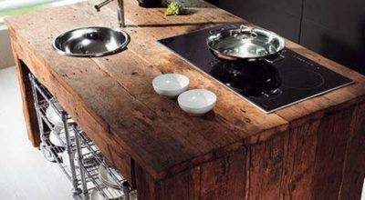 Reclaimed Wood Kitchen Island Ideas Rilane