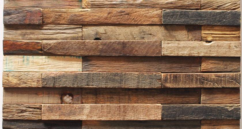 Reclaimed Wood Wall Tiles Car Interior Design