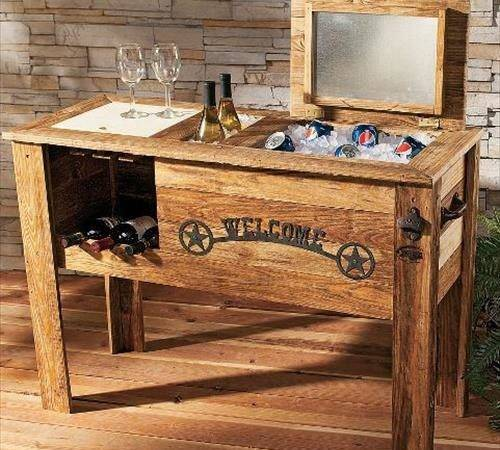 Recycle Pallets Cooler Designs