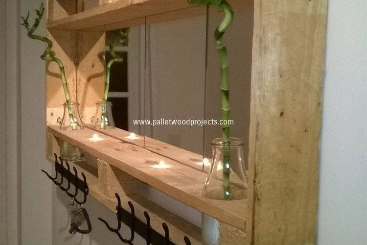 Recycled Pallet Shelving Ideas Wood Projects
