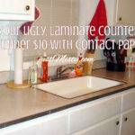 Redo Your Ugly Laminate Countertops Under
