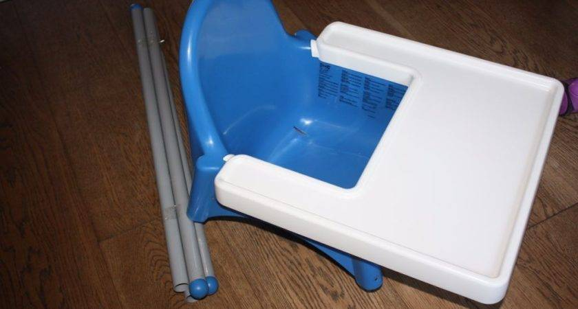 Reduced Price Ikea Antilop High Chair Condn Blue Seat