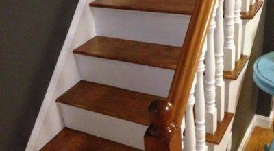 Refinish Staircase Under Frugalwoods