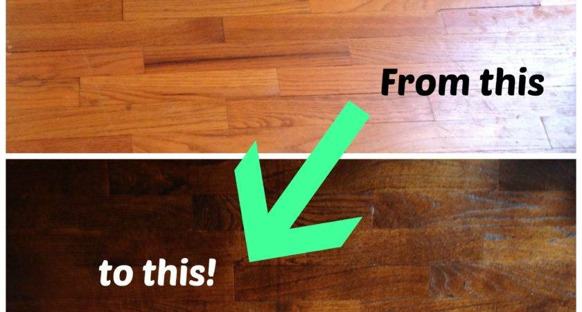 Refinish Wood Floors Part Life Shady Lane