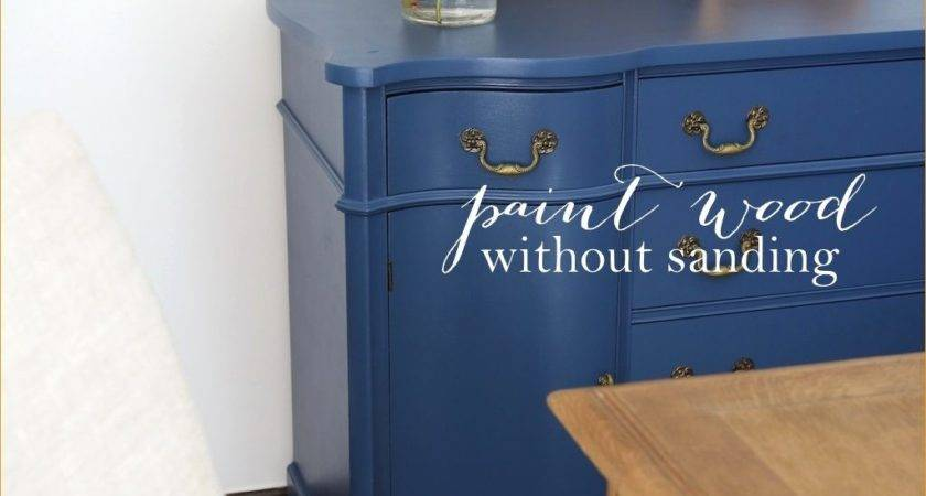 Refinish Wood Furniture Without Sanding
