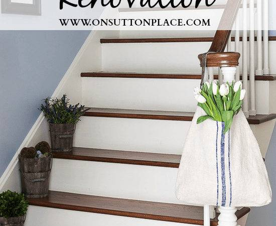 Refinished Staircase Sutton Place
