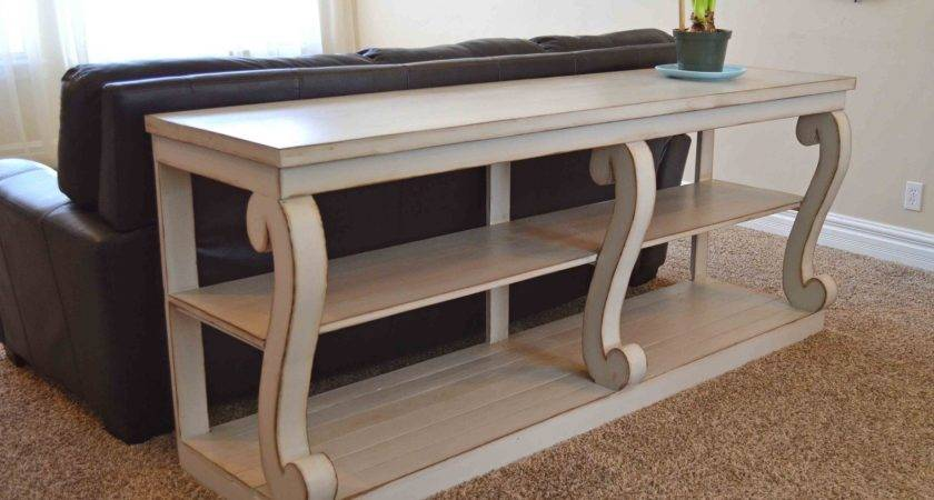 Remodel Furniture Diy Sofa Table