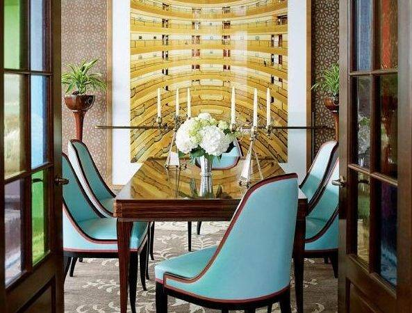 Remodelaholic Art Deco Dining Room