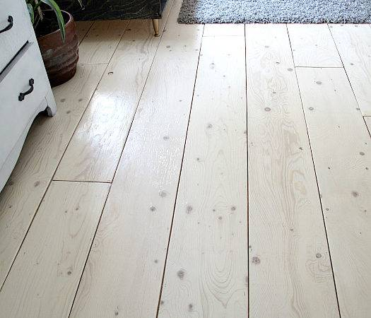 Remodelaholic Diy Plywood Flooring Pros Cons Tips