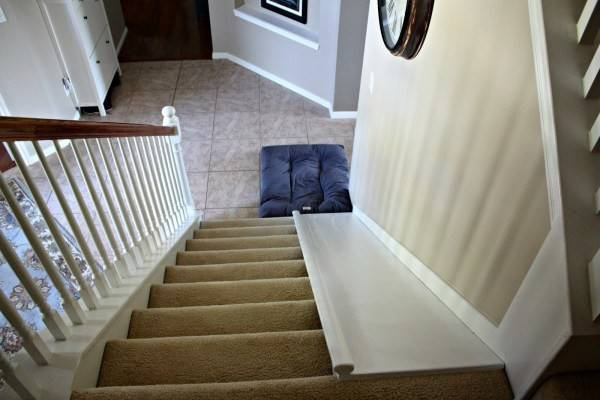 Remodelaholic Diy Stair Slide Add