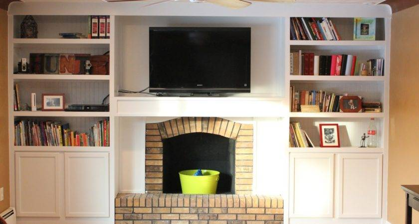 Remodelaholic Fireplace Remodel Built Book