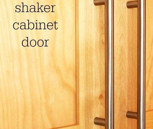 Remodelaholic Make Shaker Cabinet Door